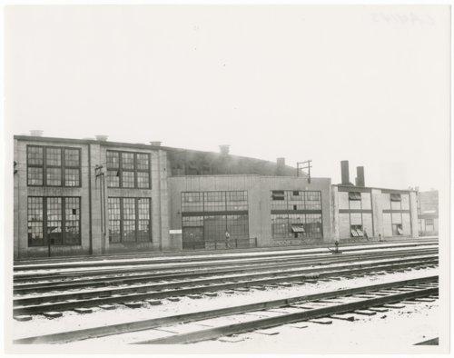 Atchison, Topeka & Santa Fe Railway Company's roundhouse, Clovis, New Mexico - Page