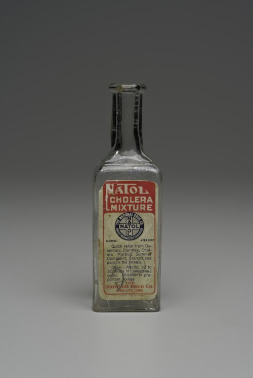 Natol Cholera Mixture bottle - Page