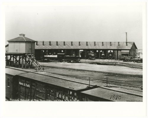 Atlantic & Pacific Railroad roundhouse, Needles, California - Page