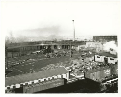 Atchison, Topeka & Santa Fe Railway Company's roundhouse, La Junta, Colorado - Page