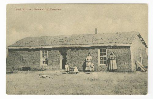 Sod house, Ness City, Kansas - Page