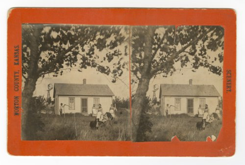 Ves Mensing home, Almena, Kansas - Page