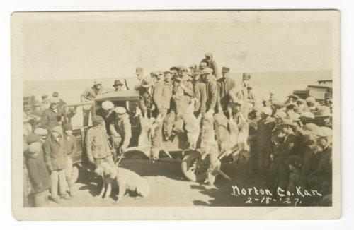 Wolf hunt, Norton County, Kansas - Page