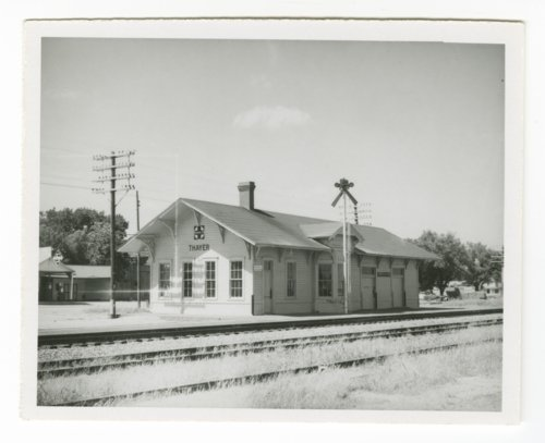 Atchison, Topeka & Santa Fe Railway Company depot, Thayer, Kansas - Page