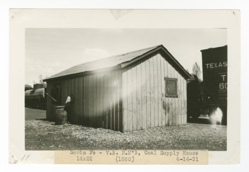 Atchison, Topeka & Santa Fe Railway Company coal supply house, Santa Fe, New Mexico - Page