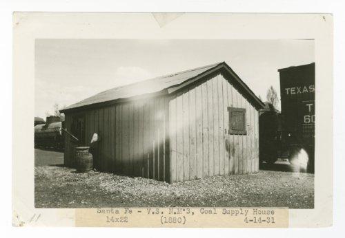 Atchison, Topeka & Santa Fe Railway Company coal supply house, Santa Fe, New Mexico - Page