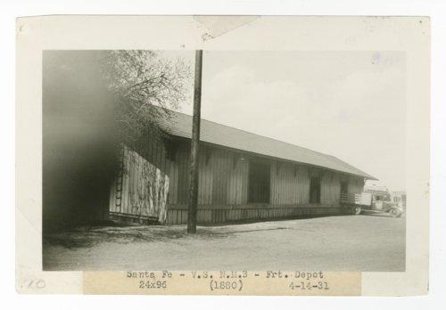 Atchison, Topeka & Santa Fe Railway Company freight depot, Santa Fe, New Mexico - Page