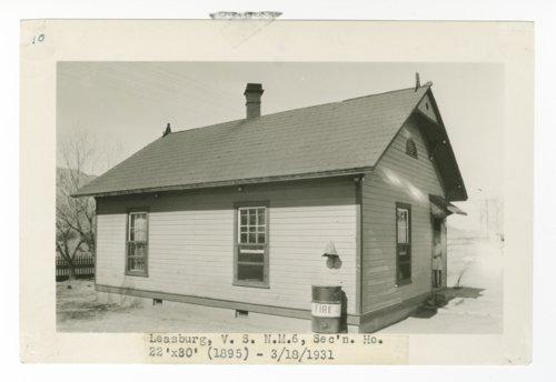 Atchison, Topeka & Santa Fe Railway Company section house, Leasburg, New Mexico - Page