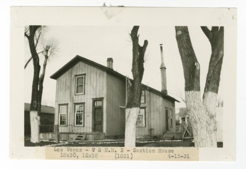 Atchison, Topeka & Santa Fe Railway Company section house, Las Vegas, New Mexico - Page