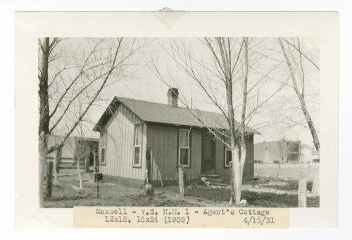 Atchison, Topeka & Santa Fe Railway Company agent cottage, Maxwell, New Mexico - Page