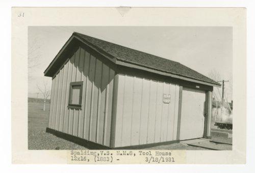 Atchison, Topeka & Santa Fe Railway Company tool house, Spalding, New Mexico - Page