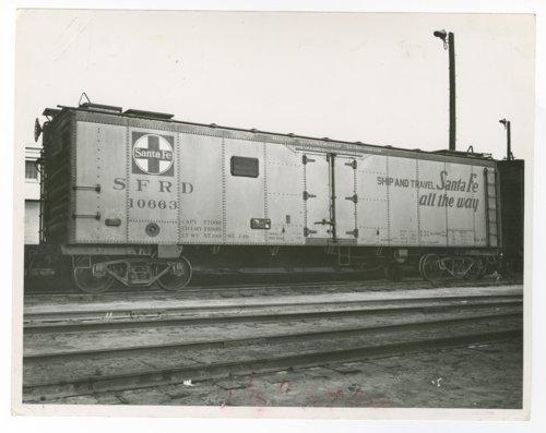 Atchison, Topeka & Santa Fe Railway Company's refrigerator car #10663 - Page