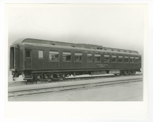 Atchison, Topeka & Santa Fe Railway Company's coach club #1535 - Page