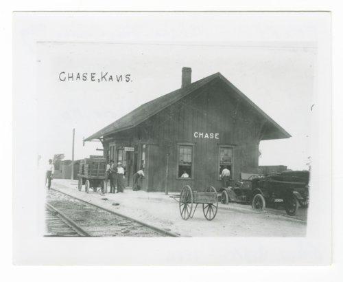 Atchison, Topeka & Santa Fe Railway Company depot, Chase, Kansas - Page