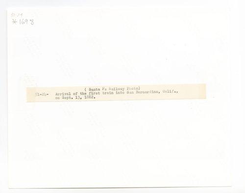 Atchison, Topeka & Santa Fe Railway Company's steam locomotive #4 - Page