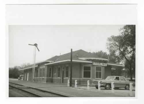 Atchison, Topeka & Santa Fe Railway Company depot, Sterling, Kansas - Page