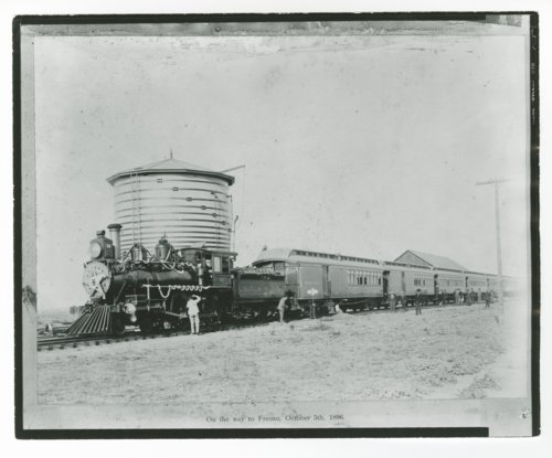 San Francisco & San Joaquin Valley Railroad's steam locomotive No. 5 - Page