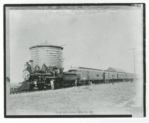 San Francisco & San Joaquin Valley Railroad's steam locomotive No. 5 - Page