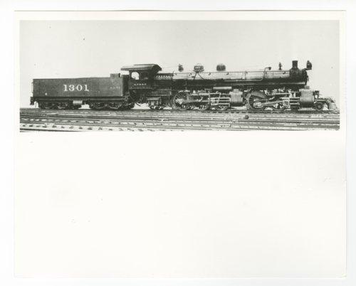 Atchison, Topeka & Santa Fe Railway Company's steam locomotive #1301 - Page