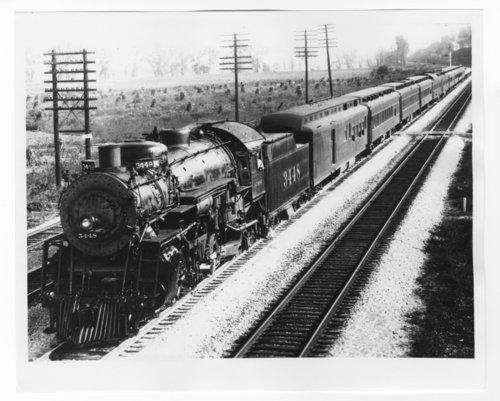 Atchison, Topeka & Santa Fe Railway Company's steam locomotive #3448 - Page