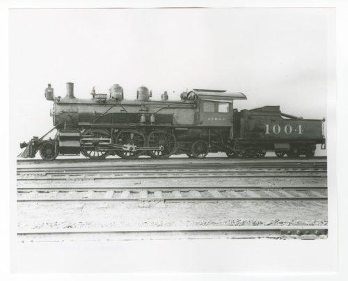 Atchison, Topeka & Santa Fe Railway Company's steam locomotive #1004 - Page