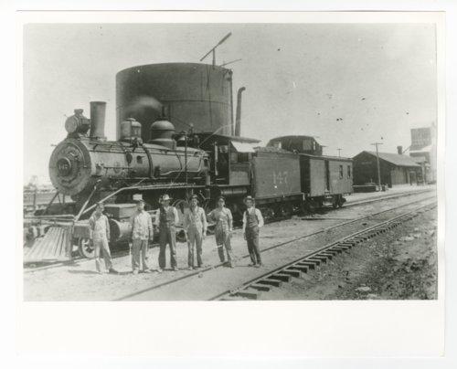 Atchison, Topeka & Santa Fe Railway Company's steam locomotive #147 - Page
