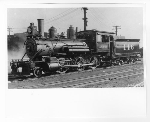 Atchison, Topeka & Santa Fe Railway Company's steam locomotive #146 - Page