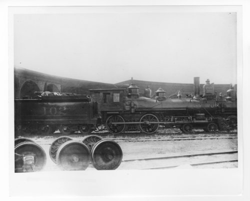 Atchison, Topeka & Santa Fe Railway Company's steam locomotive #102 - Page