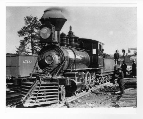 Atchison, Topeka and Santa Fe Railway Company's steam locomotive #137 - Page
