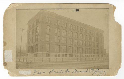 Atchison, Topeka & Santa Fe Railway Company general offices, Topeka, Kansas - Page