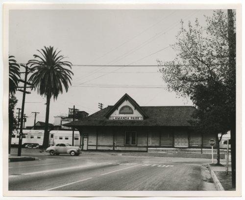 Atchison, Topeka & Santa Fe Railway Company depot, LaManda Park, California - Page