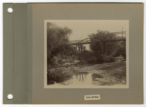 Iron bridge, Osborne, Kansas - Page