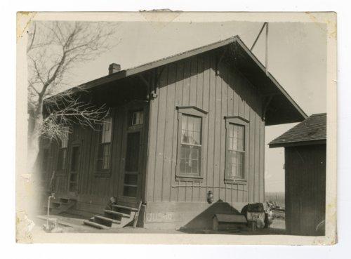 Atchison, Topeka & Santa Fe Railway Company depot, Ponder, Texas - Page