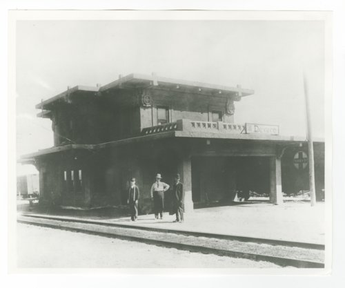 Atchison, Topeka & Santa Fe Railway Company depot, Devore, California - Page