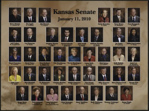 Members of the 2010 Kansas Senate - Page