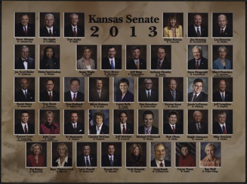 Members of the 2013 Kansas Senate - Page