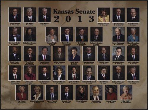 Members of the 2013 Kansas Senate - Page