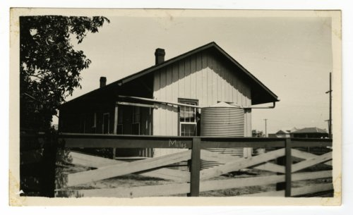 Atchison, Topeka & Santa Fe Railway Company's section house, Miles, Texas - Page
