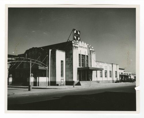 Atchison, Topeka & Santa Fe Railway Company depot, Oklahoma City, Oklahoma - Page
