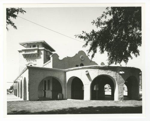Atchison, Topeka & Santa Fe Railway Company depot, Raton, New Mexico - Page