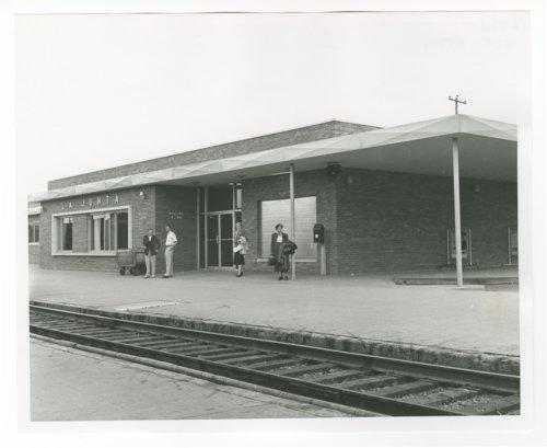Atchison, Topeka & Santa Fe Railway Company depot, La Junta, Colorado - Page