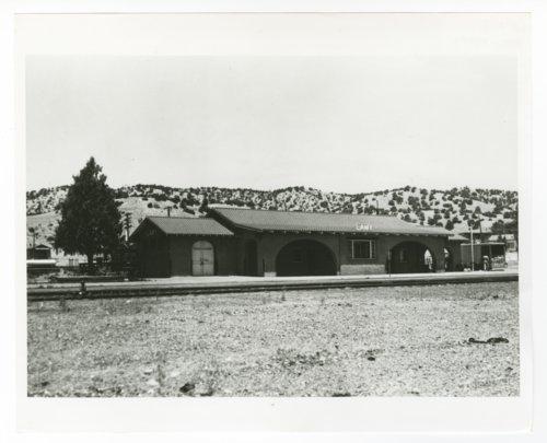 Atchison, Topeka & Santa Fe Railway Company depot, Lamy, New Mexico - Page