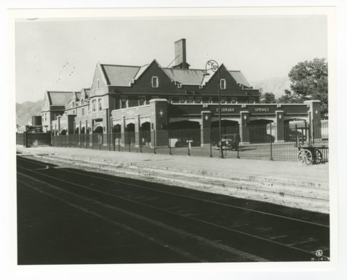 Atchison, Topeka and Santa Fe Railway Company depot and Harvey House, Colorado Springs, Colorado - Page