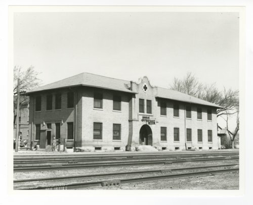 Atchison, Topeka & Santa Fe Railway Company division offices, Las Vegas, New Mexico - Page