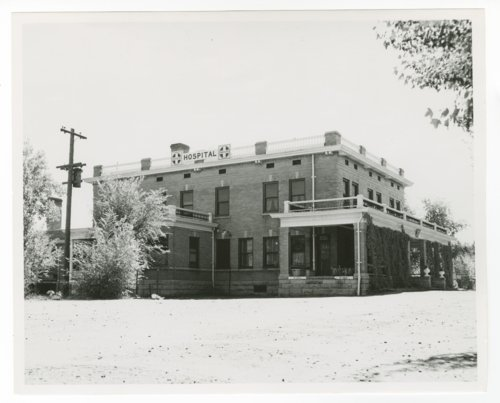 Atchison, Topeka and Santa Fe Railway Company hospital, La Junta, Colorado - Page