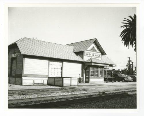 Atchison, Topeka & Santa Fe Railway Company depot, Casa Blanca, California - Page