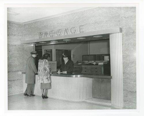 Atchison, Topeka & Santa Fe Railway Company baggage room, Topeka, Kansas - Page