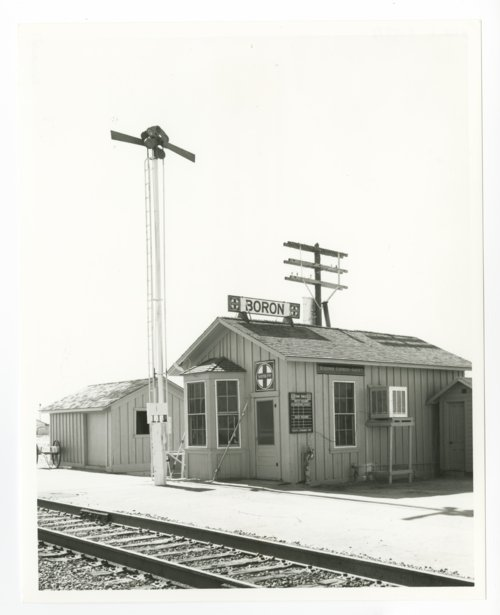 Atchison, Topeka & Santa Fe Railway Company depot, Boron, California - Page