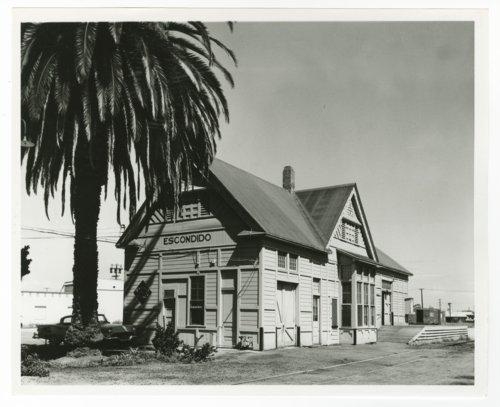 Atchison, Topeka & Santa Fe Railway Company depot, Escondido, California - Page