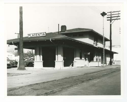 Atchison, Topeka & Santa Fe Railway Company depot, Placentia, California - Page